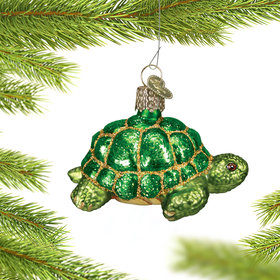 Personalized Desert Tortoise Christmas Ornament