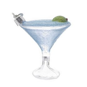 Martini Christmas Ornament