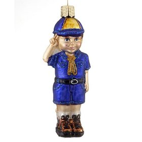 Personalized Lil' Scout Cub Scout Christmas Ornament