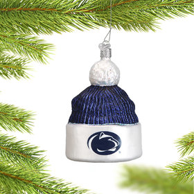 Personalized Pennsylvania State University Beanie Christmas Ornament
