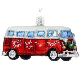 Personalized Travel Camper Van Christmas Ornament