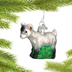 Personalized Pygmy Goat Christmas Ornament