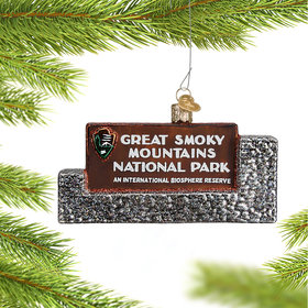 Personalized Great Smoky Mountains National Park Christmas Ornament