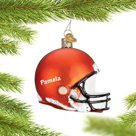 Personalized Cleveland Browns NFL Helmet Christmas Ornament