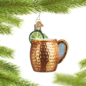 Personalized Moscow Mule Christmas Ornament