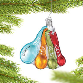 Personalized Measuring Spoons Christmas Ornament