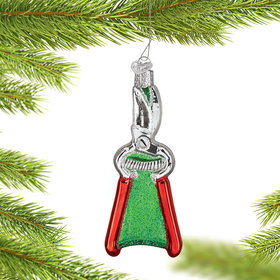 Personalized Garden Pruners Christmas Ornament