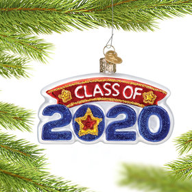Personalized Class Of 2020 Christmas Ornament
