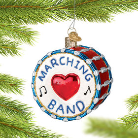 Marching Band Christmas Ornament