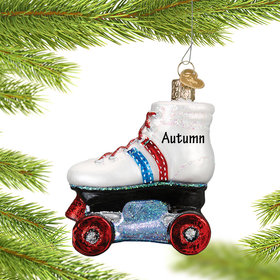 Personalized Roller Skate Christmas Ornament