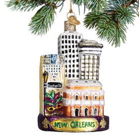 New Orleans Christmas Ornament