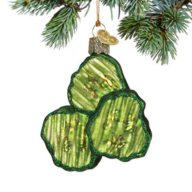Pickle Chips Christmas Ornament