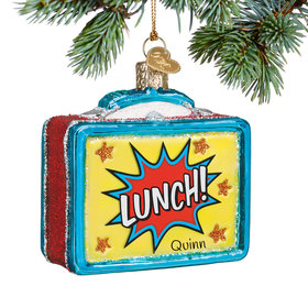 Personalized Lunchbox Christmas Ornament