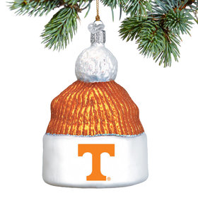 Personalized University of Tennesse Beanie Christmas Ornament