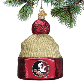 Personalized Florida State Beanie Christmas Ornament