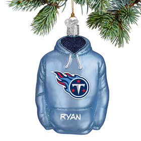 Personalized Tennessee Titans Hoodie Christmas Ornament