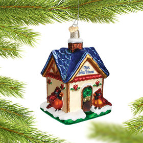 Personalized Our New Home Birdhouse Christmas Ornament