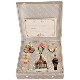 Wedding Ornament Gift Set Christmas Ornament