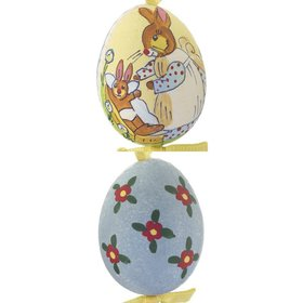 Personalized Bunny Tucking In Baby Easter Egg Christmas Ornament