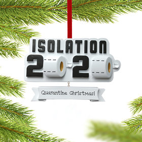 Personalized Isolation 2020 Christmas Ornament