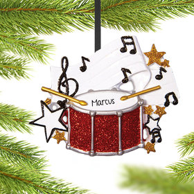 Personalized Band Christmas Ornament