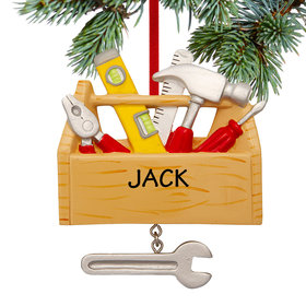 Personalized Tool Chest Christmas Ornament