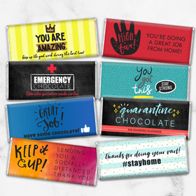Care Package Candy Gift Box Hershey's Chocolate Bars (8 Pack)