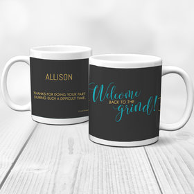 Personalized Back to the Grind 11oz Mug Empty