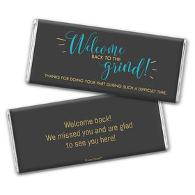 Personalized Quarantine Back to the Grind Chocolate Bar & Wrapper