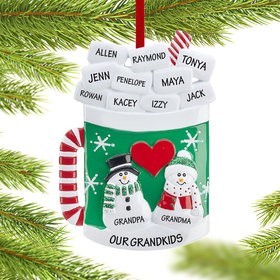 Personalized Hot Chocolate Mug Christmas Ornament
