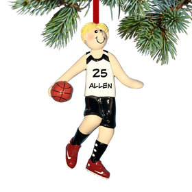 Personalized Basketball Christmas Ornament
