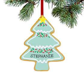 Personalized Christmas Tree Cookie Christmas Ornament
