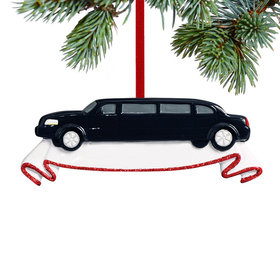 Limousine Christmas Ornament