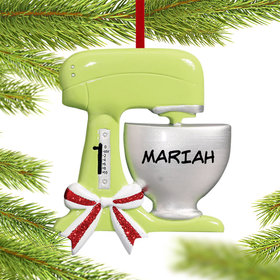 Personalized Kitchen Standing Mixer Christmas Ornament