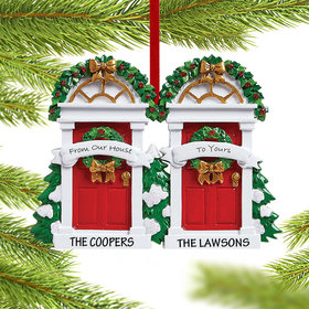 Personalized From Our House to Yours Christmas Ornament