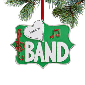 Personalized Band Christmas Christmas Ornament