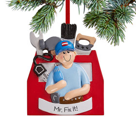 Personalized Handyman Christmas Christmas Ornament