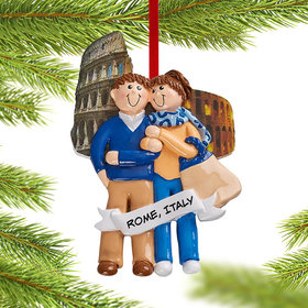 Personalized Love In Italy Christmas Christmas Ornament