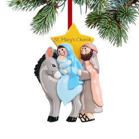 Personalized Baby Jesus Christmas Ornament