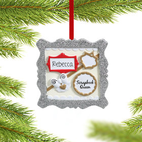 Personalized Scrapbooking Christmas Ornament
