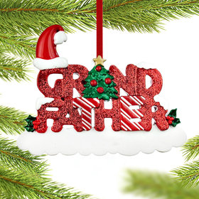 Grandfather Letters Christmas Ornament