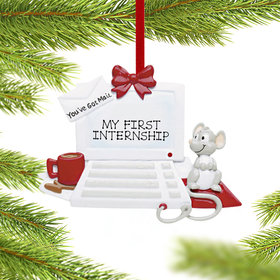 Personalized You've Got Mail Computer Christmas Ornament