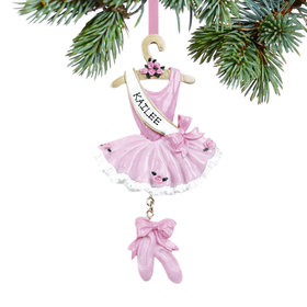 Personalized Ballet Tutu (2 sided) Christmas Ornament