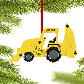 Personalized My Little Builder Christmas Ornament