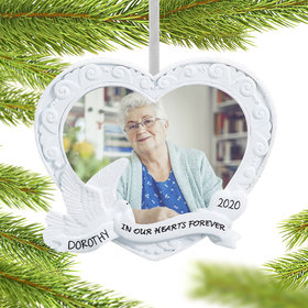 Personalized Memory Frame Christmas Ornament