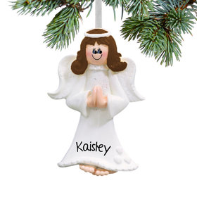 Personalized Angel Praying Christmas Ornament