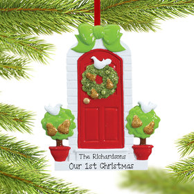Personalized Partridge in a Pear Tree Christmas Ornament