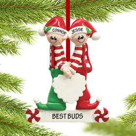 Personalized Close Brothers or Friends Christmas Ornament