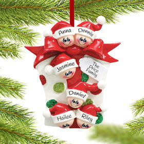 Personalized Present 6 Christmas Ornament