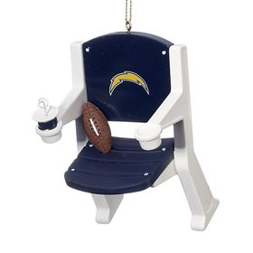 San Diego Chargers Stadium Seat Christmas Ornament